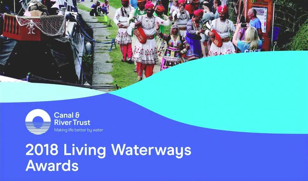 Rivertime Boat Trust wins 'Canal and River Trust 2018 Living Waterways' Award