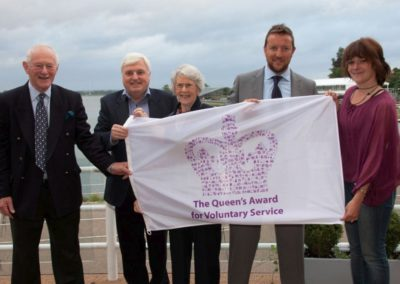 Rivertime Boat Trust Queens Award for Voluntary Service