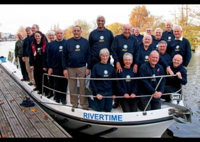 Rivertime boat trust volunteers