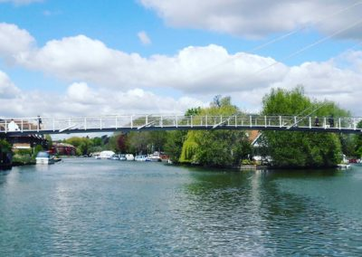 pedestrian bridge, Reading