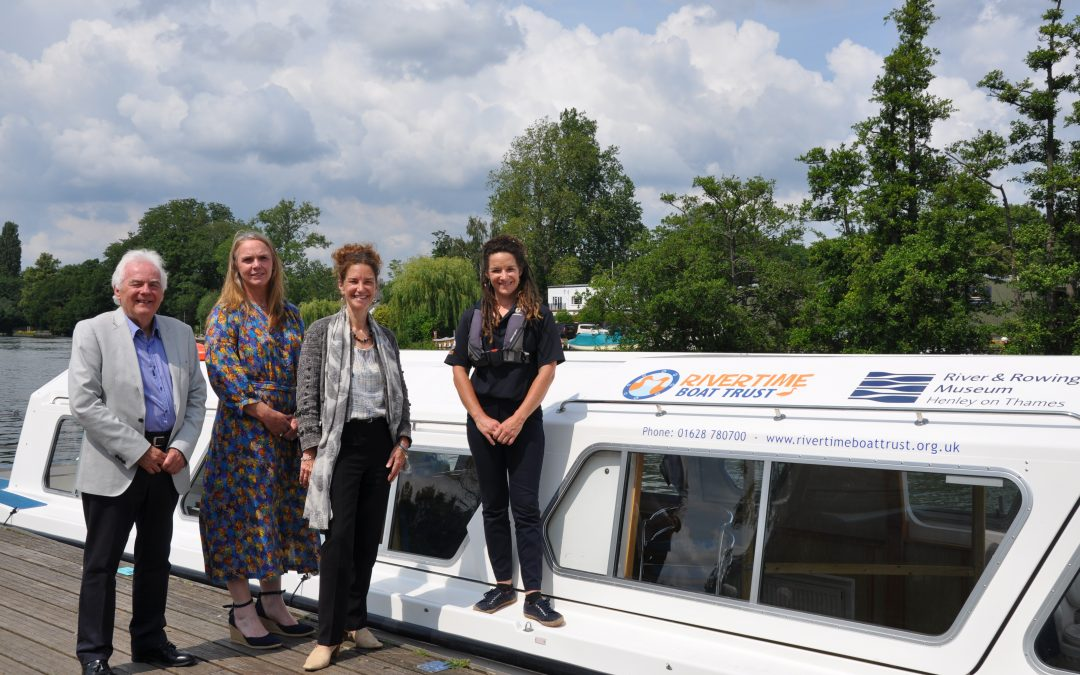Rivertime Boat Trust Announces New Partnership With River & Rowing Museum